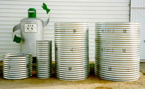 J&J Drainage Products offers corrugated steel meter boxes and well pits in many sizes.