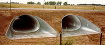 J&J Drainage Products offers the largest selection of standard flared end sections in North America.