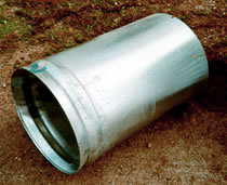 J&J Drainage Products offers end section accessories and connectors such as the smooth tapered sleeve.